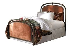 Bed Therapedic Dr Pedic 160 Matress Only abington iron bed by wesley allen at westwoodsleepcenters