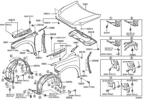 Lexus Rx350 Parts by Lexus Rx350 Parts Diagrams Lexus Auto Wiring Diagram