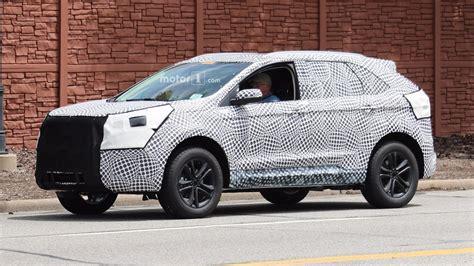 2019 Ford Edge by Sharper 2019 Ford Edge Spied Testing Near Dearborn