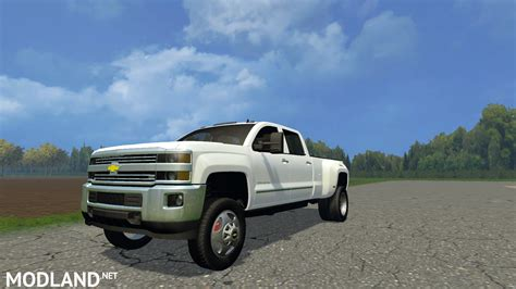 when is the truck 2015 chevy silverado 3500 family truck mod for farming