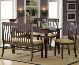 Dining Room Sets With Bench Seating by Dining Room Furniture Bench Best Dining Room Furniture