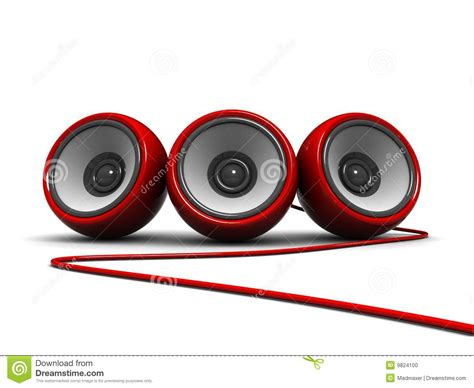modern speakers modern speakers stock illustration image of party