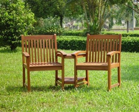 love bench garden furniture garden love seat companion bench with central table patio furniture seats 2 ebay