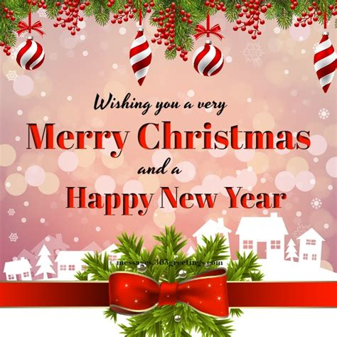 merry christmas  happy  year  greetingscom