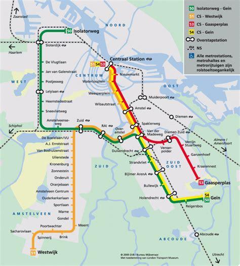 netherlands map ns amsterdam metro map netherlands