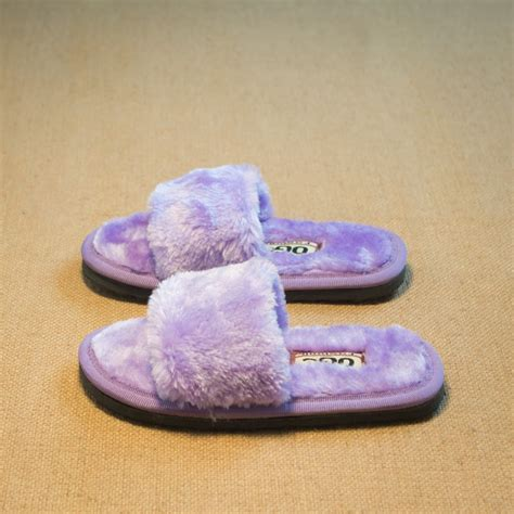 fashioned slippers for 2016 chidren winter slippers home shoes fur warm