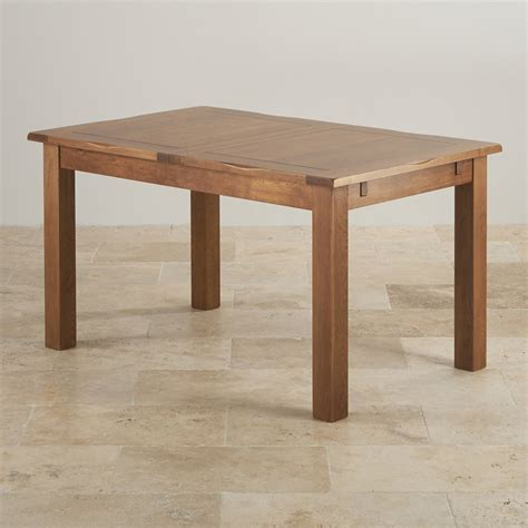 Original Rustic Extending Dining Table Oak Furniture Land Oak Furniture Land Dining Table