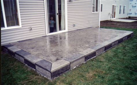 cement patio designs bing images outdoor living