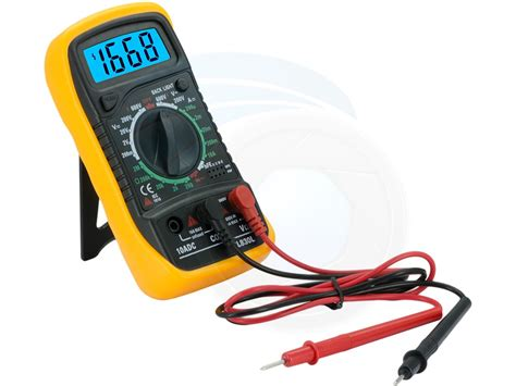 Digital Ohm Volt Meter digital lcd multimeter voltmeter ohms s voltage ac dc