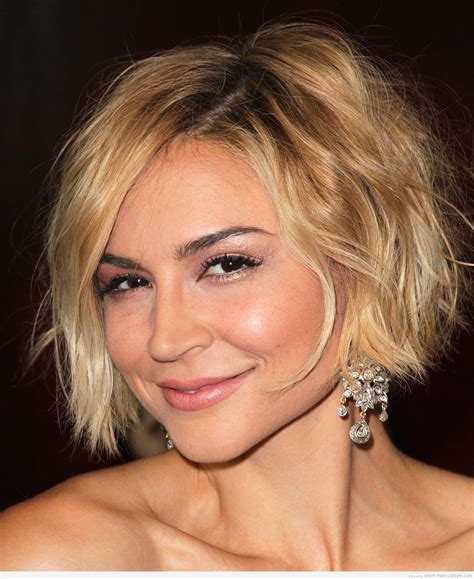 curly hairstyles for square jaw line cute short haircuts for women with square faces