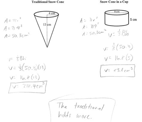 printable math worksheets volume cone worksheet volume of cones cylinder and spheres answers