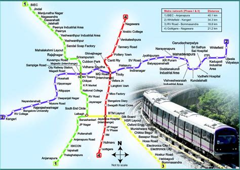 Metro Cities In India Essay by Bangalore Metro Phase2 Map Desidentity