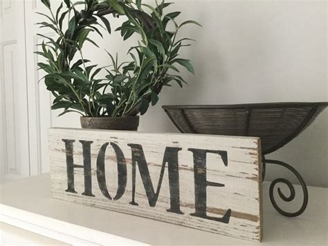 reclaimed wood home sign recycled wood home sign weathered