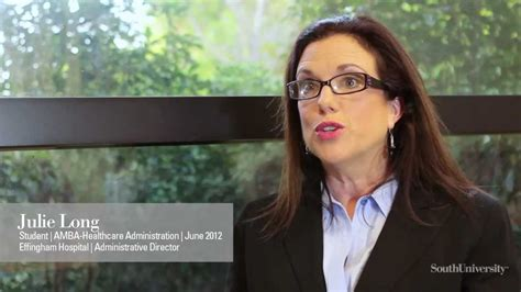 Accelerated Mba Healthcare Administration by South Accelerated Master Of Business