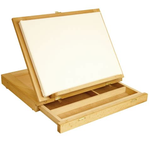 Portable Adjustable Wood Desk Easel With Drawers Will Easel Desk