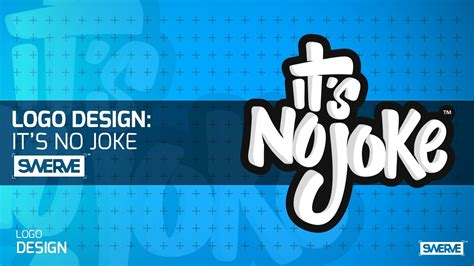 graphics design youtube video swerve graphic designer speedart quot it s no joke quot logo