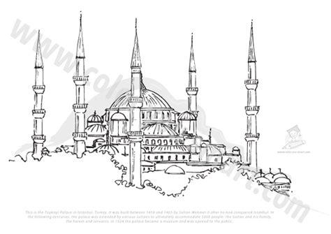 hagia sophia istanbul turkey coloring page coloring 2 istanbul coloring download istanbul coloring