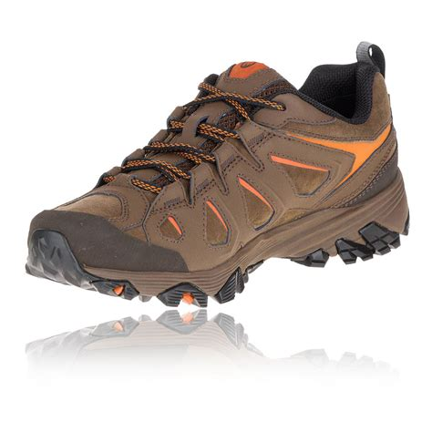 merrell walking shoes merrell moab fst leather tex walking shoes ss17