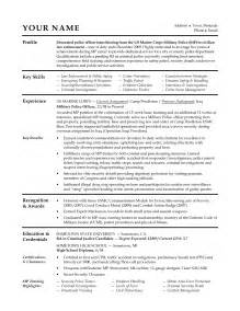 Military To Civilian Resume Builder Civilian Resume For Military Sales Military Lewesmr
