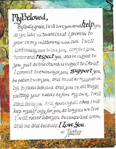 Wedding Vows For by Heatherpaiges Wedding Vows