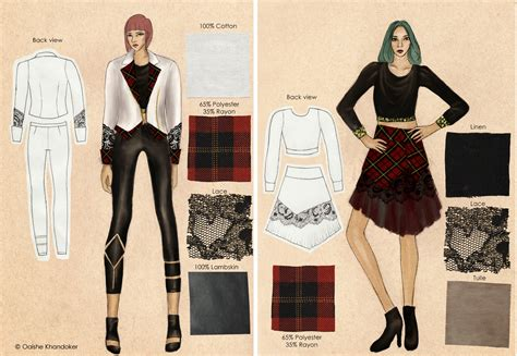 design your fashion portfolio oaishe my fit fashion design portfolio