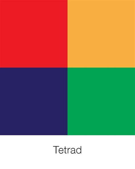 tetrad color scheme tetrad tetrad colour scheme