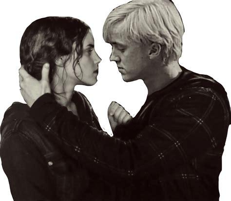 Hermione Granger Draco Malfoy by Dramione Draco Malfoy Hermione Granger Freetoedit