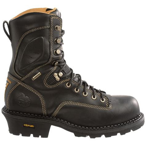 georgia boots comfort core georgia boot 9 gore tex 174 comfort core logger boots for