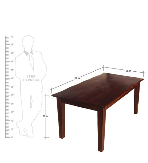 pepperfry dining table 6 seater hometown vienna solidwood 6 seater dining table by