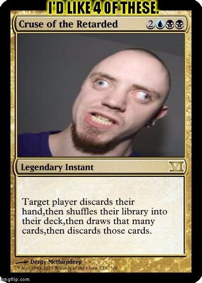 Funny Meme Cards - pointless magic card imgflip