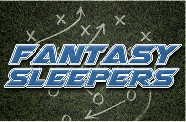 Ppr Sleepers by 10 Ppr Sleepers For Week Eight