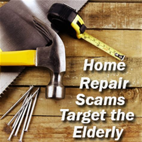 home repair scams target the elderly