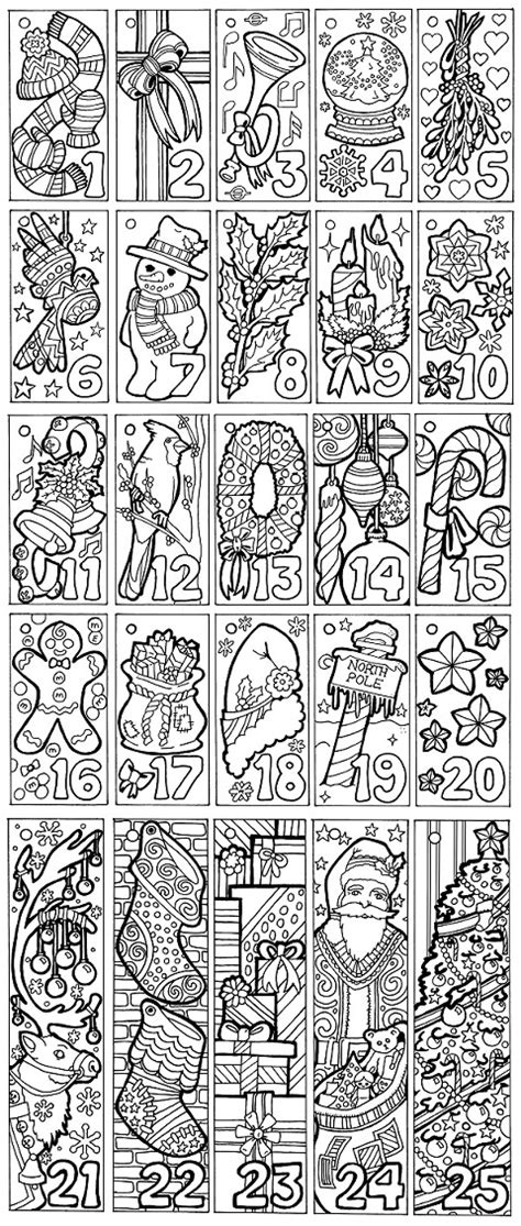printable colour in advent calendar christmas advent calendar coloring pages printable pdf