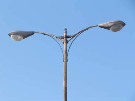 electric light pole broadway bronx part 1 forgotten york