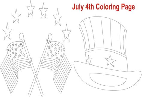 fourth of july coloring pages pdf july 4th printable coloring page for kid 8