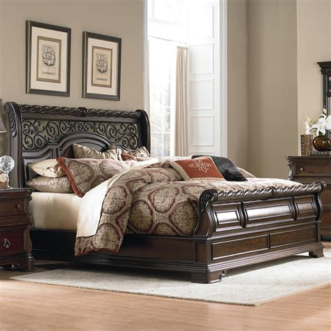 liberty furniture arbor place  br ksl king traditional