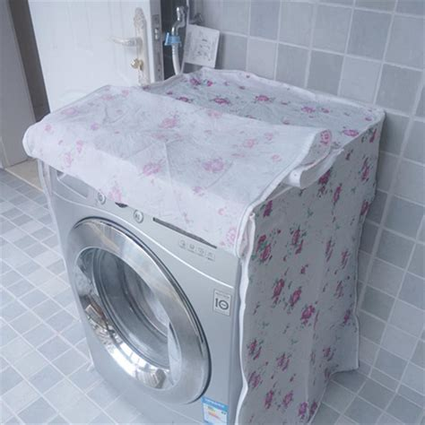 Washing Machine Dust Cover waterproof washing machine zippered dust cover protection