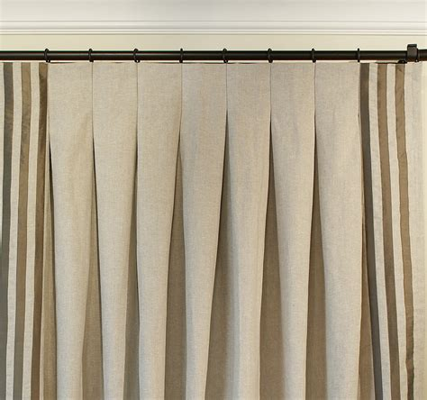 inverted pleat curtains traditions cotton drapery collection drapestyle com