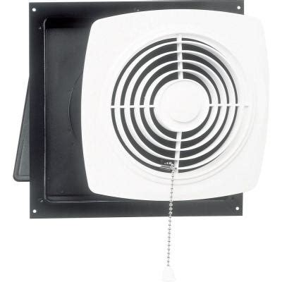 bathroom exhaust fan on wall 470 cfm wall chain operated exhaust bath fan 506 the