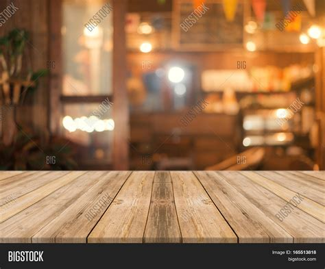 Coffee Shop Floor Plans by Wooden Board Empty Table Top On Image Amp Photo Bigstock
