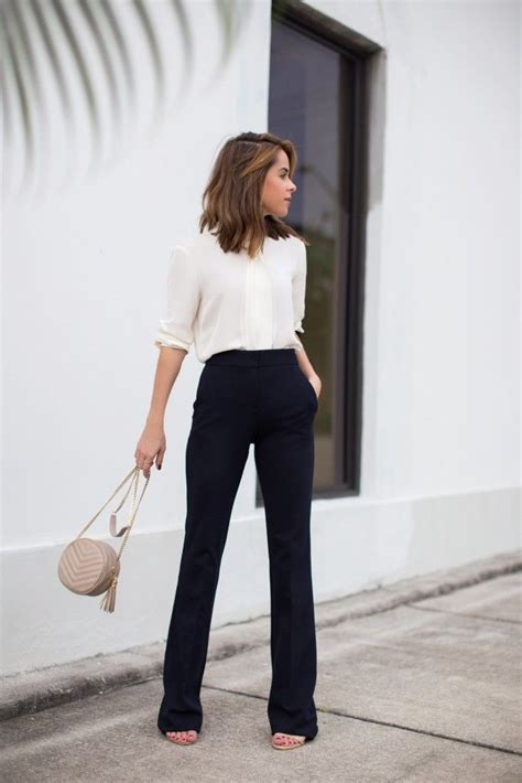 chic work outfits  wear  fall outfit ideen