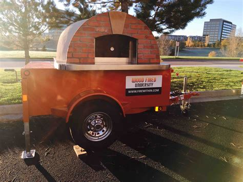 mobile pizza oven mobile pizza ovens forno bravo authentic wood fired ovens
