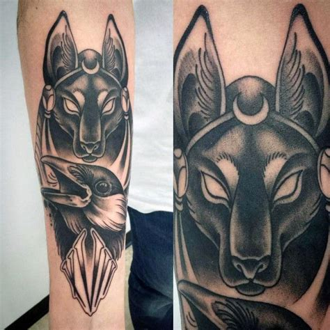 100 anubis tattoo designs for men egyptian canine ink ideas 100 anubis tattoo designs for men egyptian canine ink