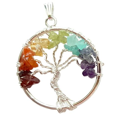 jewelry supplies canada tree of wire chakra pendant wholesale jewelry