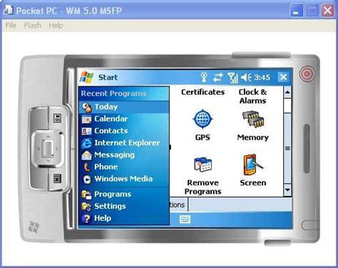 windows mobile emulator microsoft device emulator for pocket pc