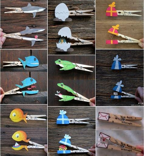 clothespin crafts best 25 clothespin crafts ideas on