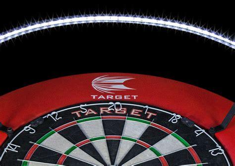 dart board lights led target vision 360 dartboard lighting system dartstore sweden
