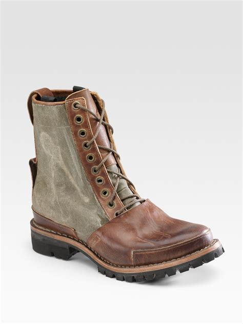 timberland tackhead winter boots in brown for lyst