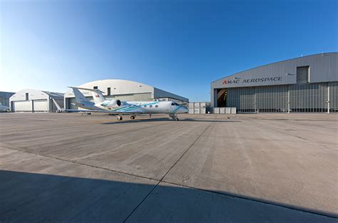 amac aviation amac aerospace opens new hangar aviation