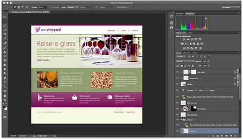 web layout using photoshop learning the tasks of a web designer thealmostdone com